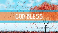 Autumn Closer: God Bless Title