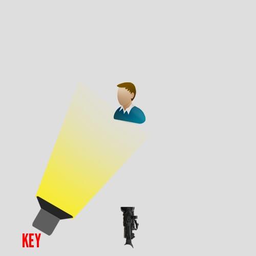 Key Light Set Up