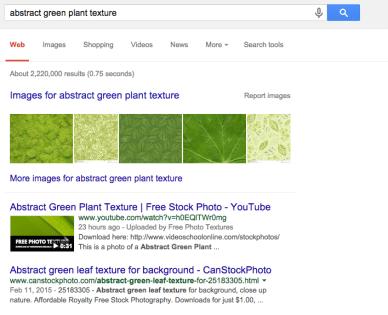stock photo results google