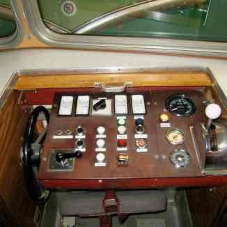 """Historisches """"Cockpit"""""""