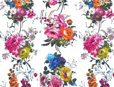 Discount Budget Alternatives to Anthropologie Peony Wallpaper