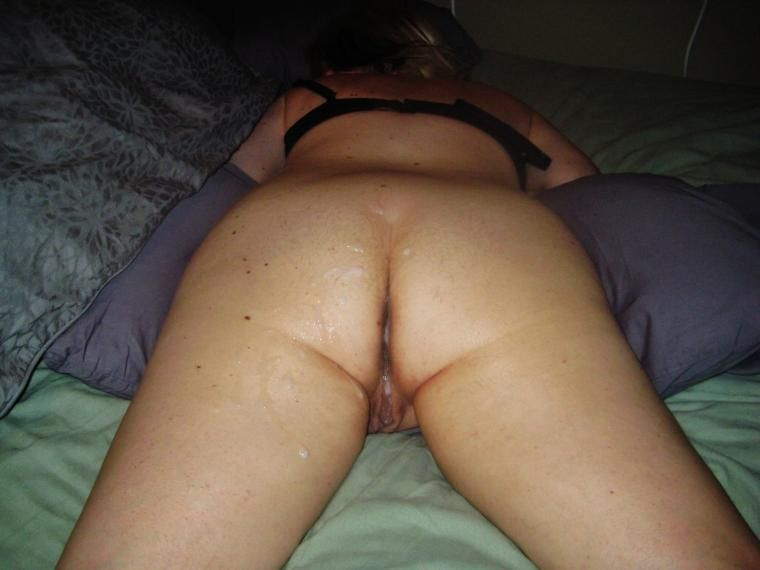 wife comes home with cum soaked panties