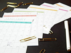 Free Printable: Take-Along Medical Calendar