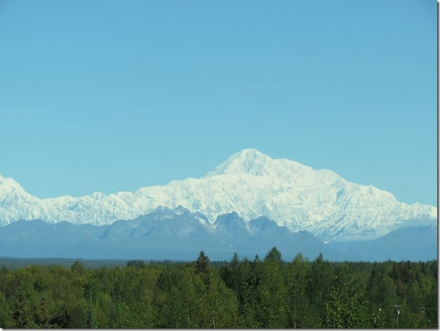 Towering Mount McKinley