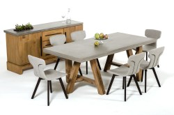 Small Of Concrete Dining Table