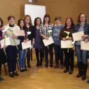 Vila-real premia les alumnes del curs de cuidadors de persones dependents