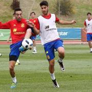 Bruno Soriano, entre els 23 seleccionts d'Espanya per a l'Eurocopa de França