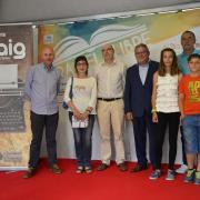 Joaquim Valls guanya el Premi Maig de Narrativa que s'ha celebrat a la Fira del Llibre
