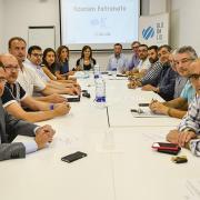 La Fundació Globalis es reuneix amb l'alcalde de Vila-real i el regidor de Relacions Institucionals