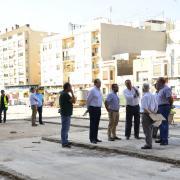 """Les obres de la Plaça de El Madrigal marxen """"al ritme previst"""" després de la demolició del Campió Llorens"""