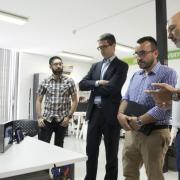 Benlloch visita el CEEI de Castelló per estrenyer futures relacions amb l'entitat