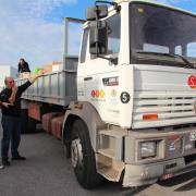 Cooperació col·labora amb l'ONG Obrint Fronteres per enviar roba i productes a Síria