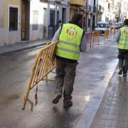Acaben els treballs de condicionament, canalització i accessibilitat al carrer del Crist de la Penitència