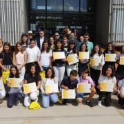 24 estudiants de tretze centres educatius reben els premis extraordinaris al rendiment acadèmic en la BUC