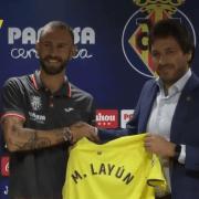 """Layún: """"M'encantaria formar part de l'equip que guanye el primer títol per al Villarreal"""""""