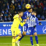El Villarreal ix derrotat de Mendizorroza davant l'Alabès després d'encaixar un gol de Borja en el minut 94 (2-1)