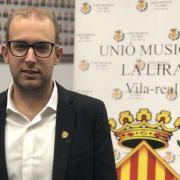 David Cubedo, de la Unió Musical La Lira de Vila-real, nou president comarcal de la FSMCV de la Plana Baixa