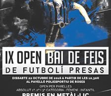 IX Open Bai de Feis de Futbolí