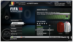 FIFA 10 UltimateTeam