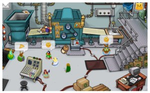 Club Penguin Earth Day