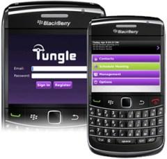 Tungle for Blackberry