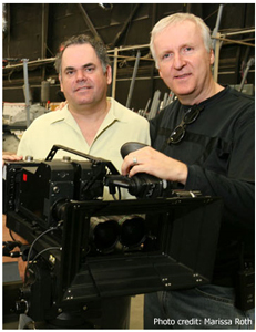 Vince Pace and James Cameron