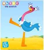 olive the ostrich