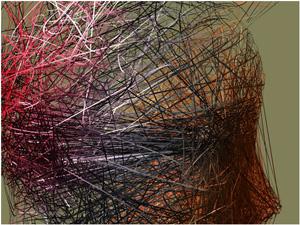 Threads 2008, © Charles Csuri