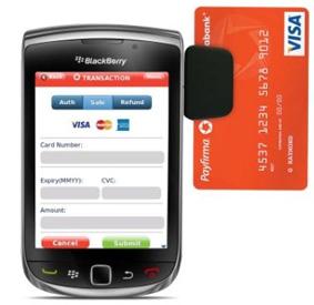 Payfirma for BlackBerry