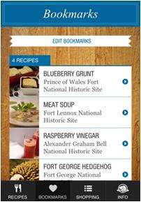 historic gourmet app