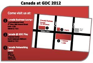 Canada at GDC 2012