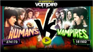 An older screenshot of Humans Vs Vampires