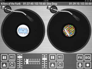 2 turntables and a microphone