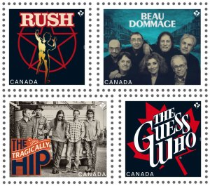 Canadian Band Stamps