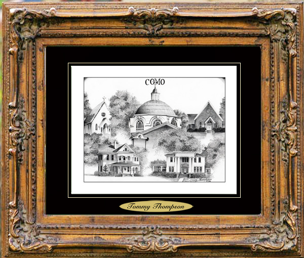 Pencil Drawing of Como, MS