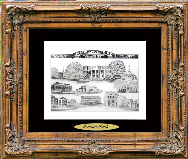 Pencil Drawing of Madisonville, KY