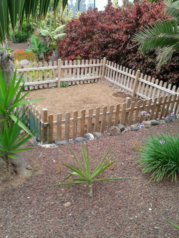Children's ecological vegetable garden at the hotel Vincci Selección Buenavista Golf&Spa 5* Lujo Tenerife.