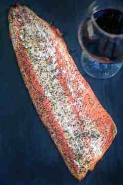 Small Of Salmon Steak Recipe