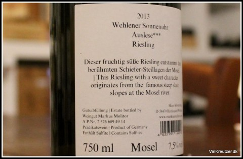 Riesling molitor
