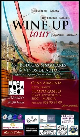Cartel del evento en Murcia