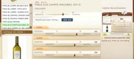 FINCA ELS CAMPS 2010 MACABEU 88.92 PUNTOS EN WWW.ECATAS.COM POR JOAQUIN PARRA WINE UP
