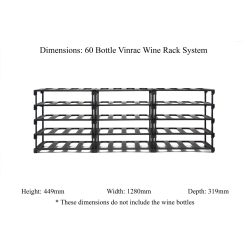 Small Crop Of Wine Rack Dimensions