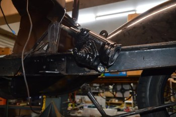 New steering box in ready for Mongolia