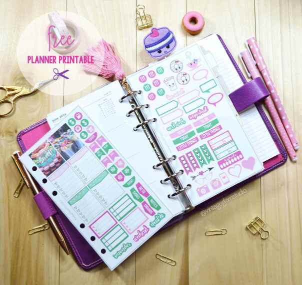 The Sweet Life - Planner Stickers