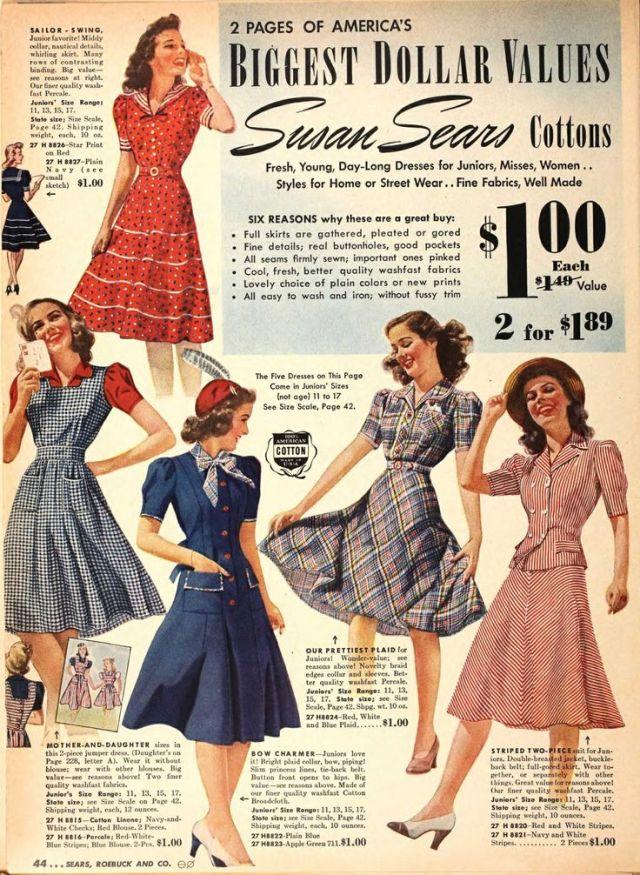 1940s Swing Style Woman
