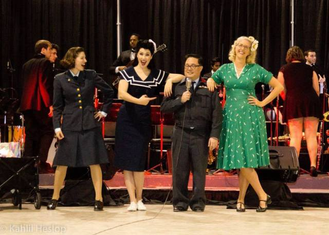 Swing out to Victory-1940s vintage outfits