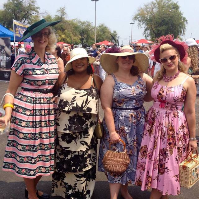 hats and horseshoe event 2015 woodbine racetrack