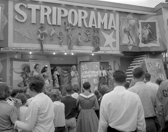 CNE Toronto 1954 vintage image