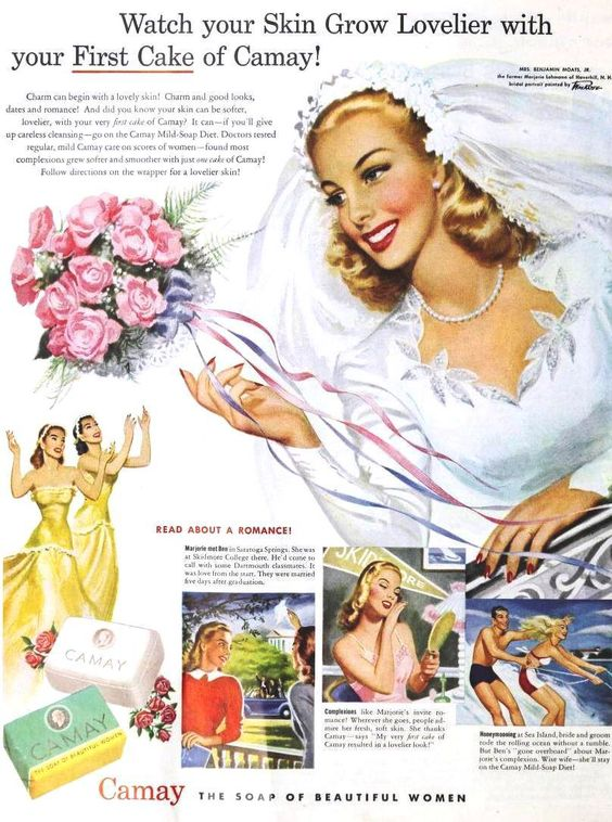 1940s Vintage Camay Ad