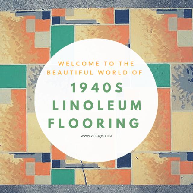 1940s Linoleum Flooring